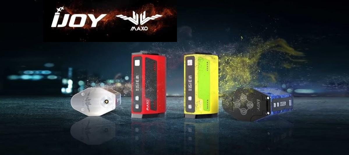 MAXO Quad 18650 315W TC BOX MOD ..by iJoy